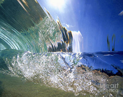 Underwater Wave Art Print