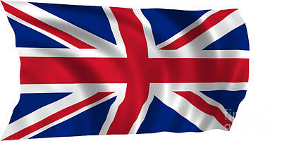 Pasta Al Dente Royalty Free Images - United Kingdom Flag Royalty-Free Image by Frederick Holiday