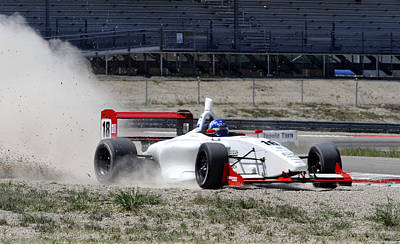 Utah Grand Prix Art Print by Dennis Hammer