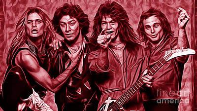 Van Halen Collection Art Print