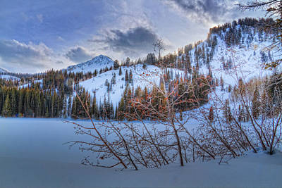 Photograph - Wasatch Mountains In Winter by Utah Images