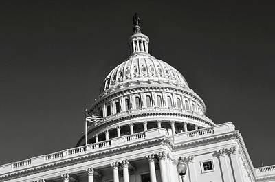 Photograph - Washington Dc Capitol Hill by Brandon Bourdages
