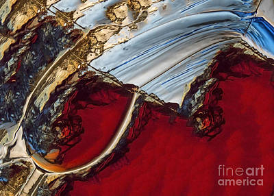 Toast Photograph - Wine Glass Fluid Motion by Sebastien Coell