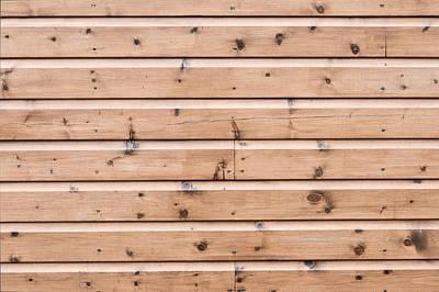 Wooden Panels Art Print by Tom Gowanlock