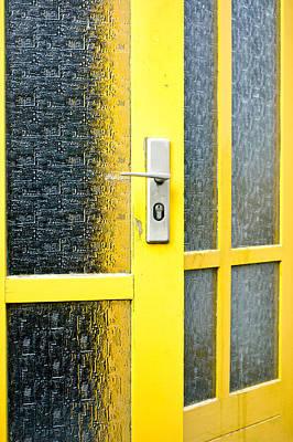 Yellow Door Art Print by Tom Gowanlock