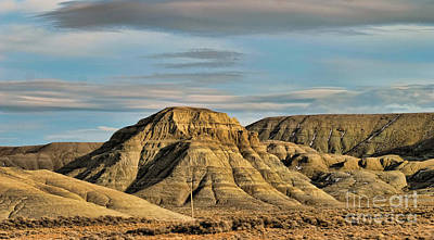 Photograph - #80 Crossing America Wyoming  by Chuck Kuhn