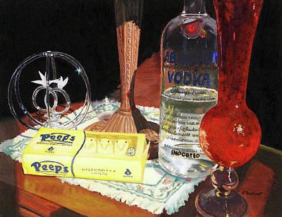 Painting - 80 Proof by Lynne Reichhart