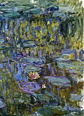 Lilies Painting - Water Lilies by Claude Monet