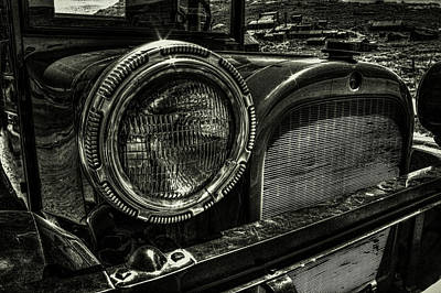 Photograph - 80 Year Old Truck At Bodie Ghost Town by Roger Passman