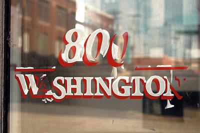 Photograph - 800 Washington by Jame Hayes