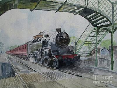 Painting - 80072 At North Weald by Martin Howard