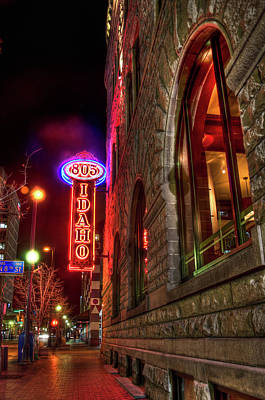 Photograph - 805 Idaho Building by Daryl Clark