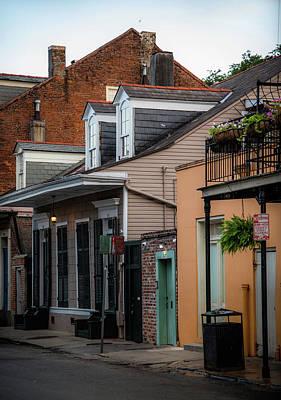 Shotgun Houses Wall Art - Photograph - 809 Bourbon Street by Chrystal Mimbs