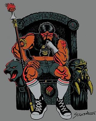 Thundercats Digital Art - 80's King by Martin Segobia