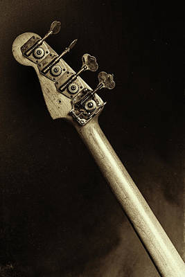 Photograph - 81.1834 011.1834c Jazz Bass 1969 Old 69 by M K Miller