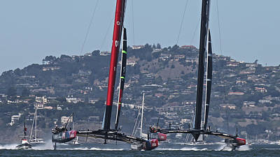 Sausalito Photograph - America's Cup 34 by Steven Lapkin