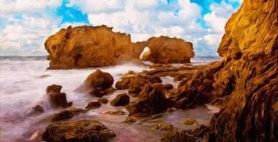 Nature Painting - Landscape Paintings Nature by Margaret J Rocha