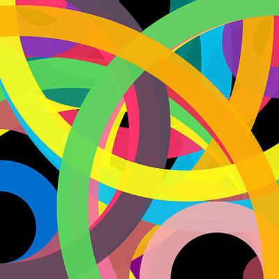 Drawing - 832040 - Phi Word Circle by REVAD David Riley