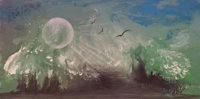 Painting - #844 The World Sings by Linda Skibinsky