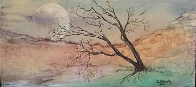Painting - #847 Quiet by Linda Skibinsky