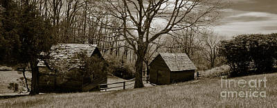 Photograph - Blue Ridge And Shenendoah by Avril Christophe