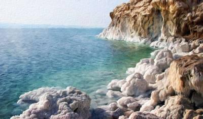 Landscape Painting - Nature Landscape Illumination by Margaret J Rocha