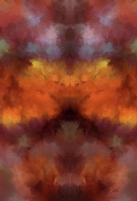 Digital Art - 8516 Mexican Fire Agate1 by Debora Nash