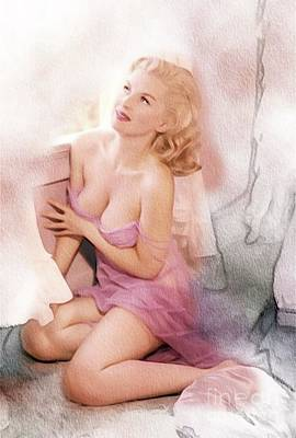 Nudes Royalty-Free and Rights-Managed Images - Vintage Pinup by Frank Falcon