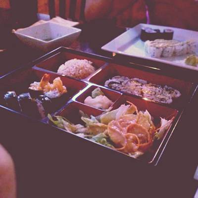 Restaurant Wall Art - Photograph - Sushi by Kamiyah Franks