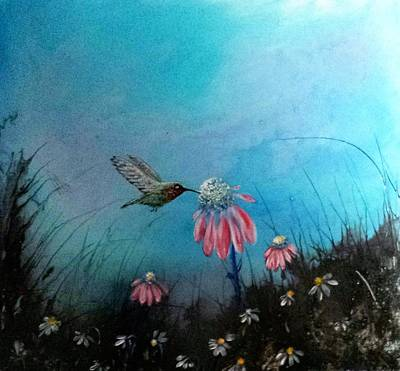 Painting - #865 Quiet Day by Linda Skibinsky