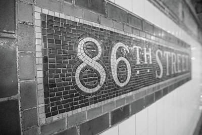 Photograph - 86th Street Subway  by John McGraw