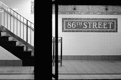 Photograph - 86th Street Subway Station by Cornelis Verwaal