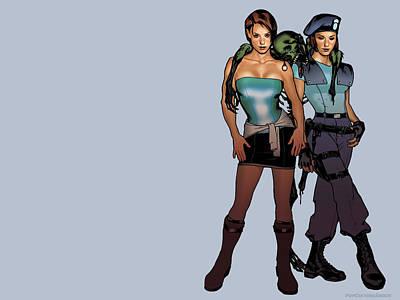 Resident Evil Digital Art - 8781 Resident Evil by F S