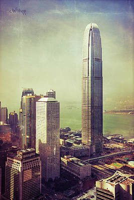 Textured Landscape Photograph - 88 Floors by Joseph Westrupp