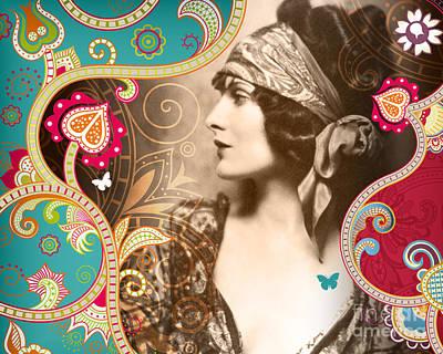 Ziegfeld Follies Photograph - Goddess by Chris Andruskiewicz