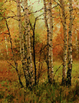 Oil Painting - Nature Work Landscape by Edna Wallen