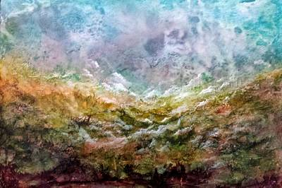 Painting - #886 Outer Limits by Linda Skibinsky