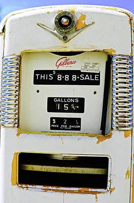 Photograph - 888 For Gas by Brian Sereda