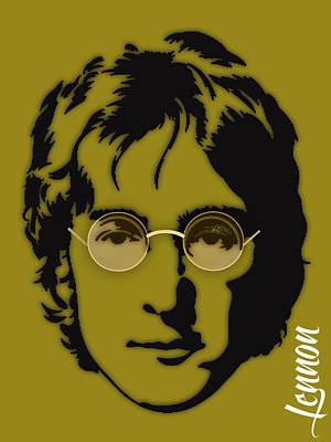 John Lennon Collection Art Print
