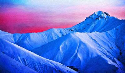 Nature Painting - Nature Scenery Oil Paintings On Canvas by Margaret J Rocha