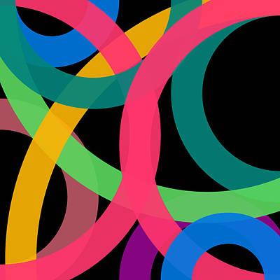 Drawing - 89 - Phi Word Circle by REVAD David Riley