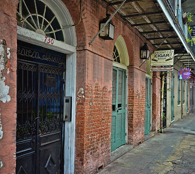 Photograph - 8am On Orleans Street - New Orleans by Greg Jackson