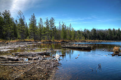 Photograph - 8th Lake Channel by David Patterson