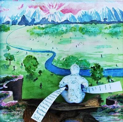 8th Step Art Print by Lucinda Blackstone