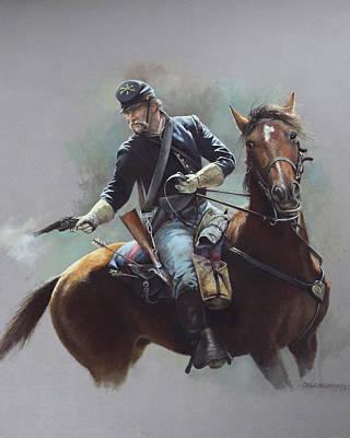 8th Us Cavalry C 1870 Art Print