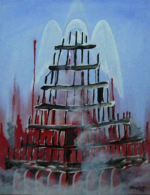 9-11 Art Print by Jorge Parellada