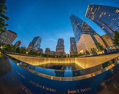 Photograph - 9/11 Memorial by Bryan Xavier