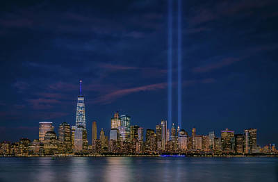 Photograph - 9/11 Memorial by Francisco Gomez
