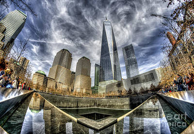 Photograph - 9/11 Memorial - Nyc by Rafael Quirindongo
