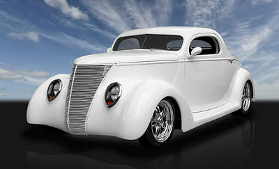 Photograph - 1937 Ford Coupe by Frank J Benz